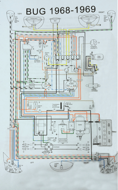 Classic Car Rewire | Classic Car Restoration | 1968-69 Volkswagen BeetleEdge Auto Electrics
