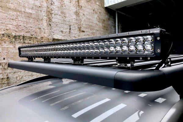 LED light bar installation